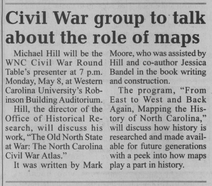 Old North State at War